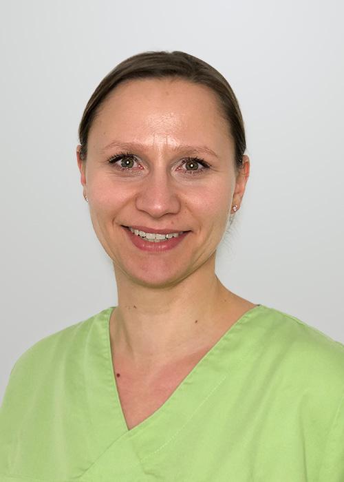 Mitarbeiterin Sophia Glaser Zahnarzt Halle